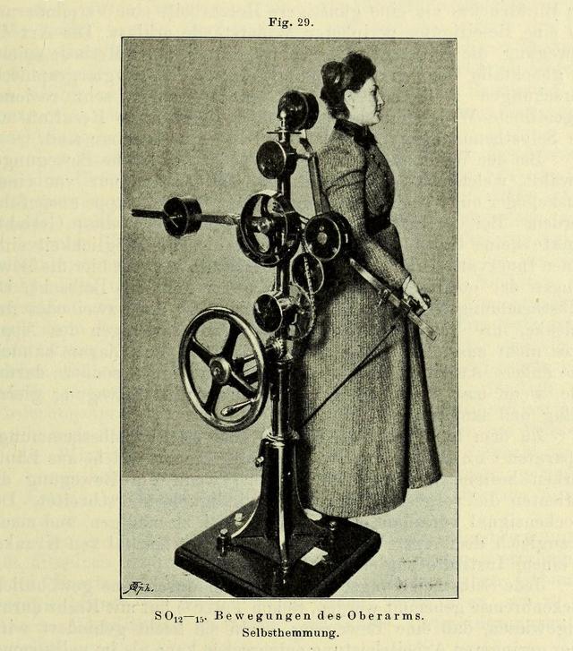 """""""Das neue System der maschinellen Heilgymnastik"""" (1899) (via Wellcome Library)"""