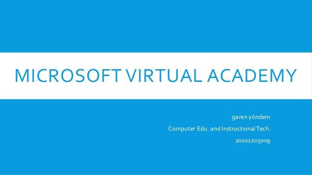 Новые бесплатные курсы виртуальной академии Microsoft Virtual Academy на январь 2015