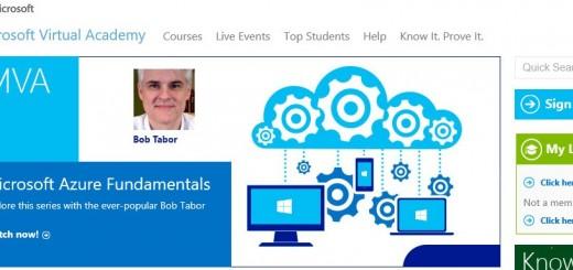Бесплатные курсы виртуальной академии Microsoft Virtual Academy, февраль 2016