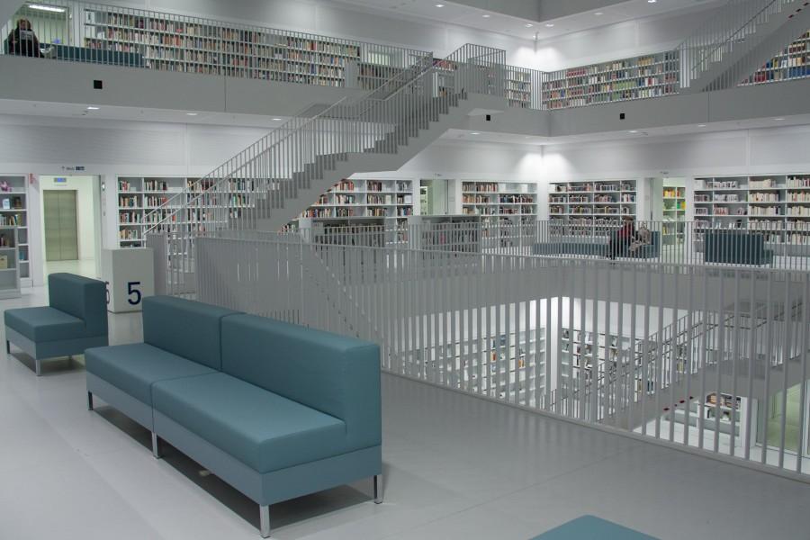 Городская библиотека Штуттгарта
