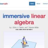 Интерактивный учебник «Immersive Linear Algebra» облегчит жизнь будущим технарям.