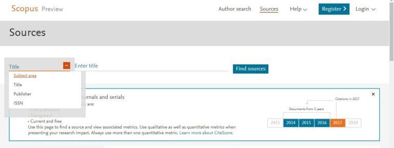Как определить индексированные журналы ISI, Scopus или Scimago?