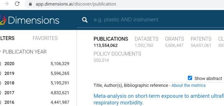 Поиск научных публикаций в Интернете. Часть 1. Что искать?